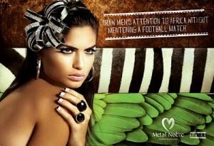 campaña publicitaria de la marca Metal Nobre Fashion
