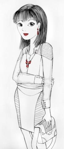 ilustración lamarcademoda