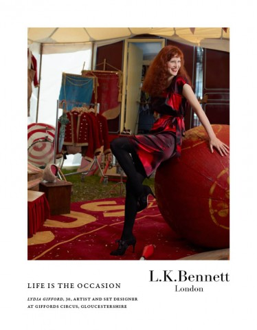 campaña Life is the ocassion L.K. Bennett