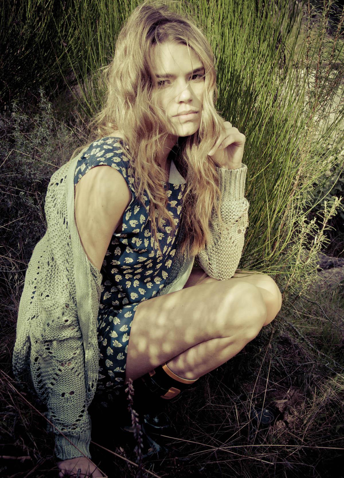 Moda española de primavera/verano inspirada en la naturaleza