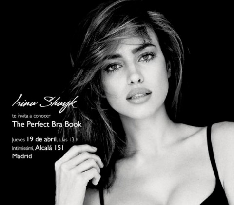 "invitación Intimissimi ""the perfect bra tour"""