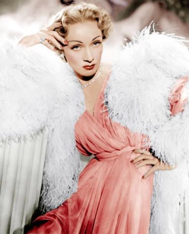 Marlene Dietrich in Dior