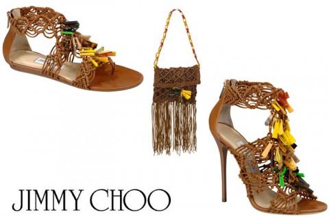 complementos estilo etnico Jimmy Choo