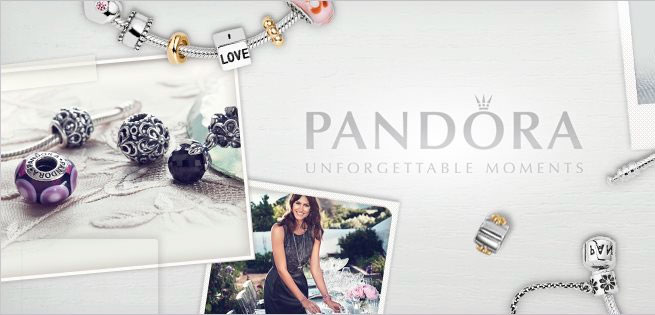 joyas de la marca Pandora