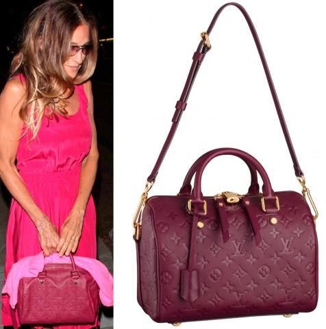 Sarah Jessica Parker y Louis Vuitton