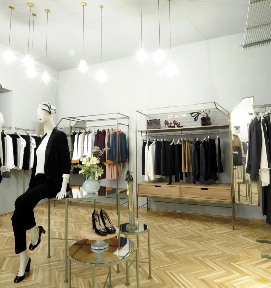 Renaming y restyling de la flagship store de Max Mara en Madrid