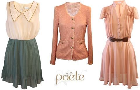 vestidos poete primavera verano 2013