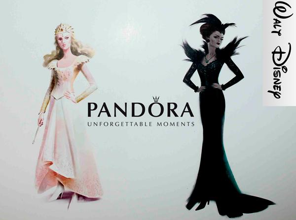 Disney y Pandora, aliadas de lujo de la Moda
